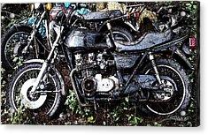 Junkyard Kawasaki Kz650 Acrylic Print