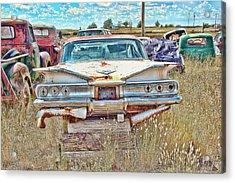 Junkyard Series 1960's Chevrolet Impala Acrylic Print