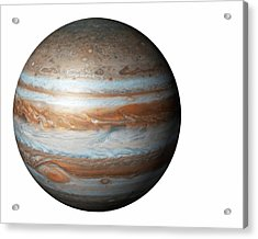 Jupiter From Space Acrylic Print