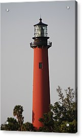 Jupiter Lighthouse Acrylic Print
