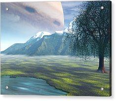 Jupiter Rising Acrylic Print