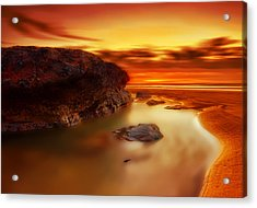 Jupiter Sunrise Acrylic Print by Mark Leader