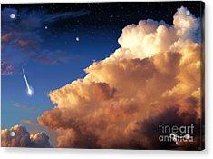 Jupiter's Stormy Sunset Acrylic Print