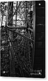 Just A Few Spokes Acrylic Print by Wayne Stacy