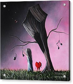 Just A Little Love Song By Shawna Erback Acrylic Print by Shawna Erback
