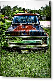Just A Little Rusty Acrylic Print by Colleen Kammerer