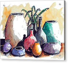 Just A Simple Still Life Acrylic Print by Terry Banderas