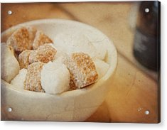 Just A Spoonful Of Sugar Acrylic Print by TK Goforth
