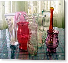 Just Add Flowers Acrylic Print by Ric Darrell