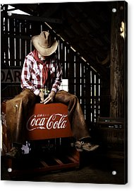 Just Another Coca-cola Cowboy 3 Acrylic Print