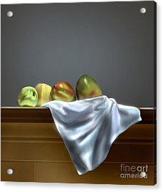 Just Apples And Mangos  Acrylic Print