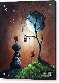 Just Because I Love You By Shawna Erback Acrylic Print by Shawna Erback