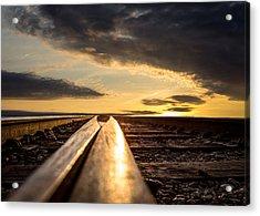 Just Before Sunrise Acrylic Print by Bob Orsillo