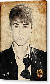 Just Bieber Acrylic Print by Dancin Artworks