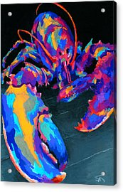Just Claws Acrylic Print by Stephen Anderson