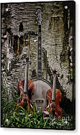 Just Country Music Acrylic Print by Timothy J Berndt