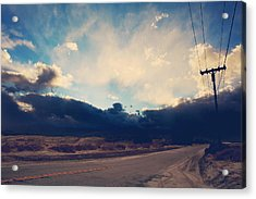 Just Down The Road Acrylic Print by Laurie Search