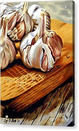 Just Garlic Acrylic Print
