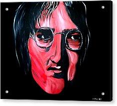 Just John Acrylic Print by Mark Moore