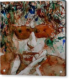 Just Like A Woman Acrylic Print by Paul Lovering