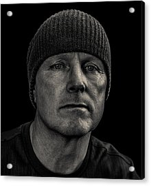 Just Me Acrylic Print by Randy Turnbow