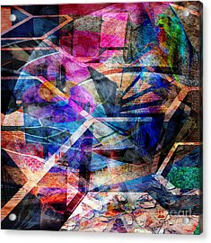 Just Not Wright - Square Version Acrylic Print by John Robert Beck