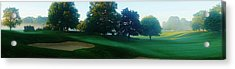 Just Off The Green Acrylic Print