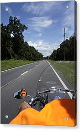 Just Ride Acrylic Print