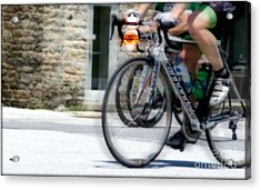 Just Riding Along Acrylic Print by Steven Digman