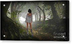 Just Up Ahead Acrylic Print