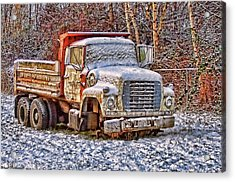 Acrylic Print featuring the photograph Just Worn Out by Ron Roberts