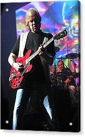 Justin Hayward Of The Moody Blues Acrylic Print by Melinda Saminski