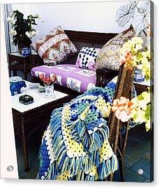 Justine Cushing's Living Room Acrylic Print