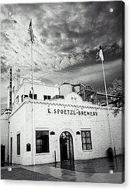K. Spoetzl Brewery Acrylic Print