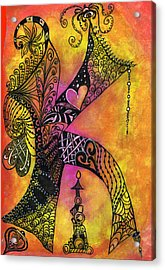 K-zen Acrylic Print