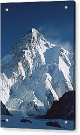 K2 At Dawn Pakistan Acrylic Print by Colin Monteath
