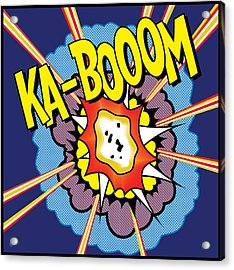 Ka-boom 2 Acrylic Print