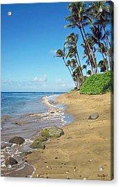 Ka'anapali Beach Acrylic Print