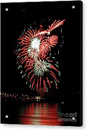 Acrylic Print featuring the photograph Kaboom by Chris Anderson