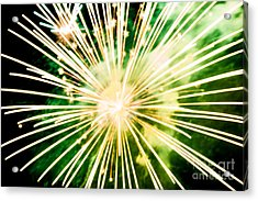 Acrylic Print featuring the photograph Kaboom by Suzanne Luft