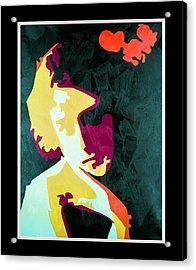 Kabuki  Acrylic Print by Richard Arfsten