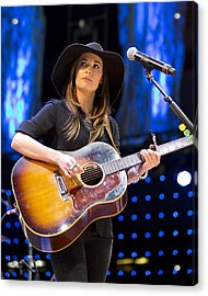 Kacey Musgraves Acrylic Print by Shawn Everhart