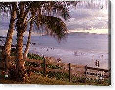 Kai Makani Hoohinuhinu O Kamaole - Kihei Maui Hawaii Acrylic Print