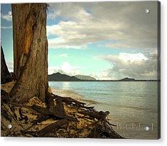 Kailua Beach Acrylic Print