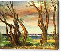 Kaina Point - Oahu Hi. Acrylic Print