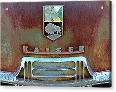 Kaiser Vintage Grill Acrylic Print by Tony Grider