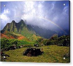 Kalalau Valley Kauai Acrylic Print by Kevin Smith