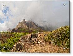 Kalalau Valley Rainbow - Kauai Hawaii Acrylic Print by Brian Harig
