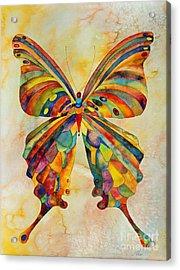 Kaleid Acrylic Print by Shannan Peters