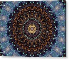 Kaleidoscope 1 Acrylic Print by Tom Druin